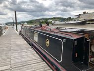 Narrowboat for refurbishment