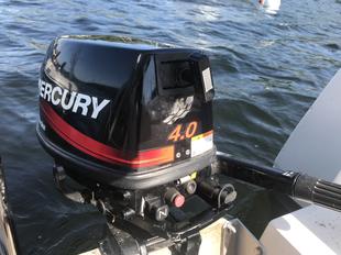 Mercury 4HP, 4 Stroke Long Shaft