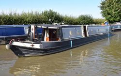 55' Trad stern narrowboat 1995 Dave Elwell