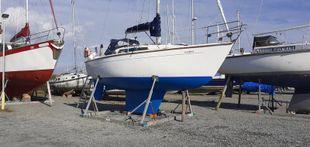 Cobra 850 28 foot sloop. New anti foul.