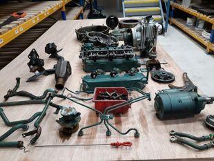 Volvo Penta 2003T Marine Diesel Engine Breaking For Spares