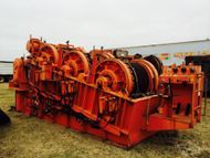 Timberland Triple Drum 28,000 lb Line Pull Winch/Hydraulic