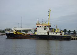 Auction: Damen Shipyards seagoing crane vessel/barrel-laying vessel
