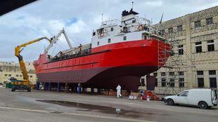 cargo ship roro