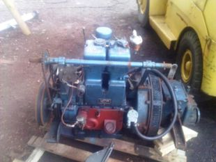 Lister ST2 Marine Diesel Engine Breaking For Spares