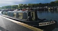 Water Knight 50' semi trad offered with mooring at Roydon Marina