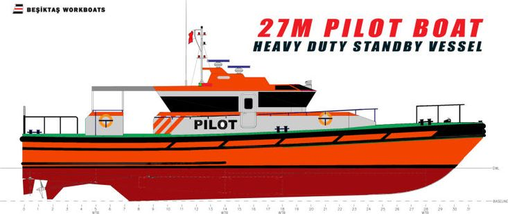 27 Meter Offshore Pilot Boat / Stand by Vessel (New Build)