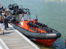 PM9.25 IB RIB workboat MOB Tender Survey Dive  Police  Patrol