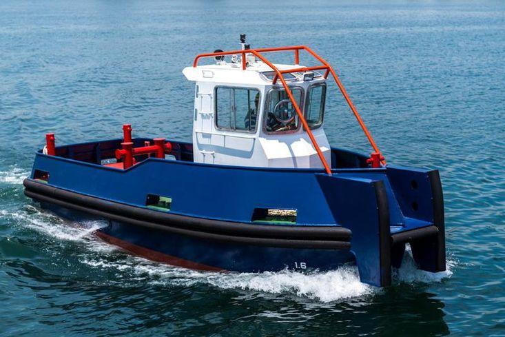 9.5mtr Morring/ Lines / Work Boat