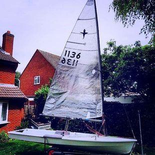Phantom Sailing Dinghy Sail No 1136
