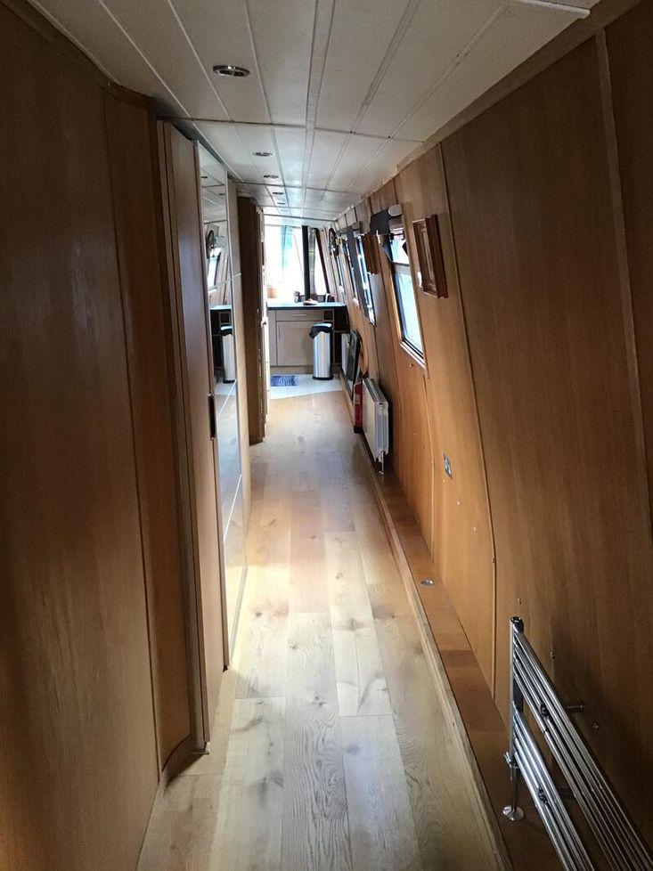 FAT BOTTOMED GIRL - 69' widebeam narrow boat