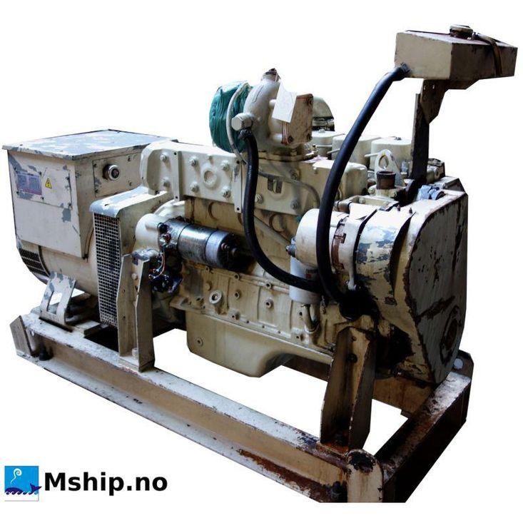 Cummins 6BT5,9-D (M) generator set 98 kWA