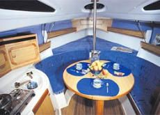 Viva 700 Trailer Sailer Cabin