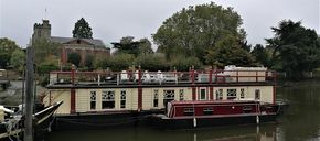 Oxford New College Barge