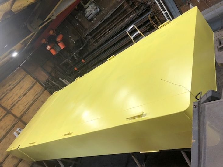 New 25′ x 10′ x 30″ Steel Barge