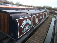 Long John 50ft 1991 Mindland Canal 4 berth cruiser stern narrowb
