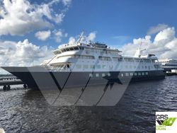 CLASS renewed & PRICE Reduced & PROMPT available / 78m / 138 pax Cruise Ship for Sale / #1046138
