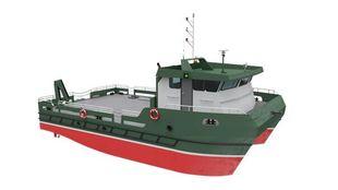 NEW BUILD - 15.5m Catamaran Workboat