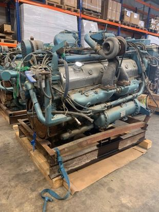 DETROIT DIESEL 12V-149  1200 HP - 1800 RPM - SN L12238 RUNNER ENGINE