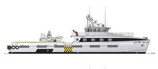 40mtr Crew/ Patrol Boat New Build Hybrid
