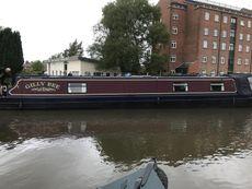 "54'6"" Cruiser Stern Narrowboat"