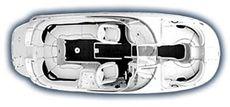 Monterey 263 EX Explorer Deck Boat - Plan