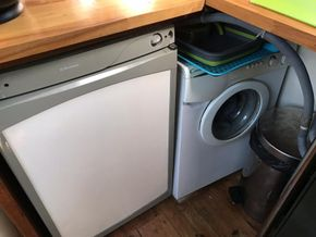 Fridge/washer