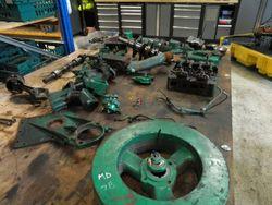 Volvo Penta MD7B Marine Diesel Engine Breaking For Spares