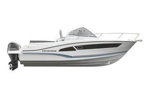 Jeanneau Cap Camarat 9.0 WA (sports boat / cruiser) - diagram of side view