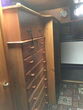 Bunk room/office storage