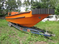 Wind farm support boat JET RIB work boat 420hp Yanmar Diesel 13M