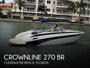 2006 Crownline 270 BR