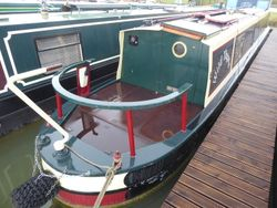 Wild Thyme 50ft 2001 Cruiser Stern G J Reeves/Wessex narrowboats