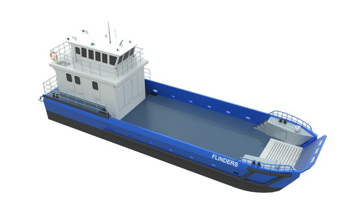 MOC Shipyards 20m Shallow draft Landing Craft