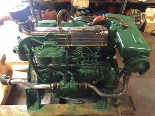 Ford Sabre 80 Marine Diesel Engine Breaking For Spares