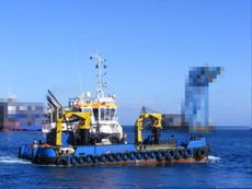 Multipurpose Anchor Handling Tug Workboat