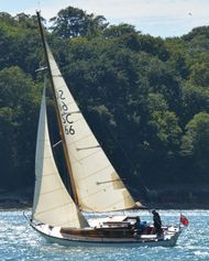 26ft South Coast One Design - well maintained and regularly sailed