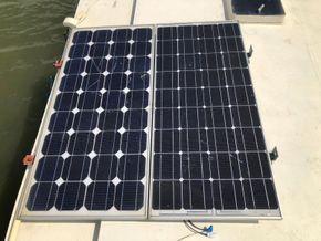 Replica Boat Torpedo Boat Twin Detroit diesel engines 900hp - Solar panels