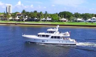 2017 Offshore Yachts Pilothouse