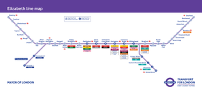Crossrail London Train Station Map and UK Floating Homes Close To Reading
