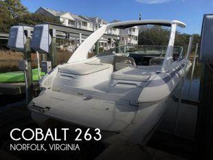 2001 Cobalt 263 cuddy cabin