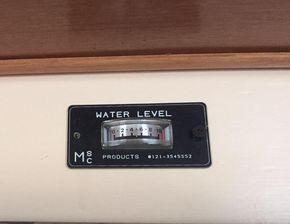 Water tank level display