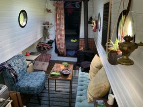 Lived-in Living room