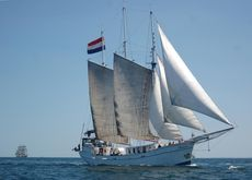 Fully EU licensed charter schooner