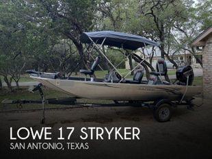 2017 Lowe 17 Stryker