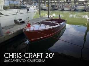 1956 Chris-Craft Sportsman