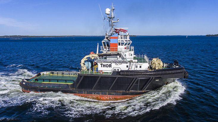AHT Tug THOR, 85t BP, 7200 bHp.