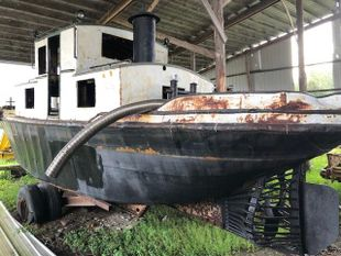 PROJECT BOAT - 1945 35' Russel Bros Alligator Boat