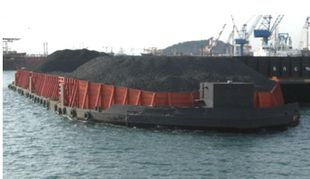 FLAT TOP DECK BARGE