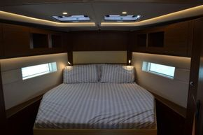 Owner's cabin in the bow